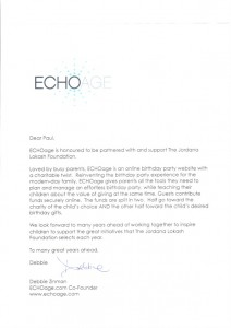 ECHOage sponsorship letter