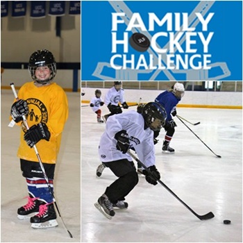 Register for the Family Hockey Challenge 2015